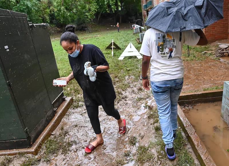 Inundaciones en Maryland