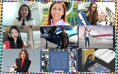 Latinas en la industria de la aviación inspiran a niñas a volar alto