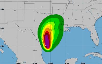 Tormenta Nicholas amenaza la costa del Golfo de México con fuertes lluvias