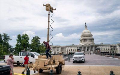 Policía pide instalar cerca alrededor del Capitolio antes del mitin del 18 de septiembre