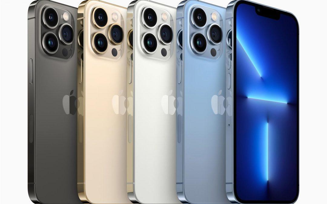 Los iPhone 13 de Apple mejoran la duración de la batería y las cámaras
