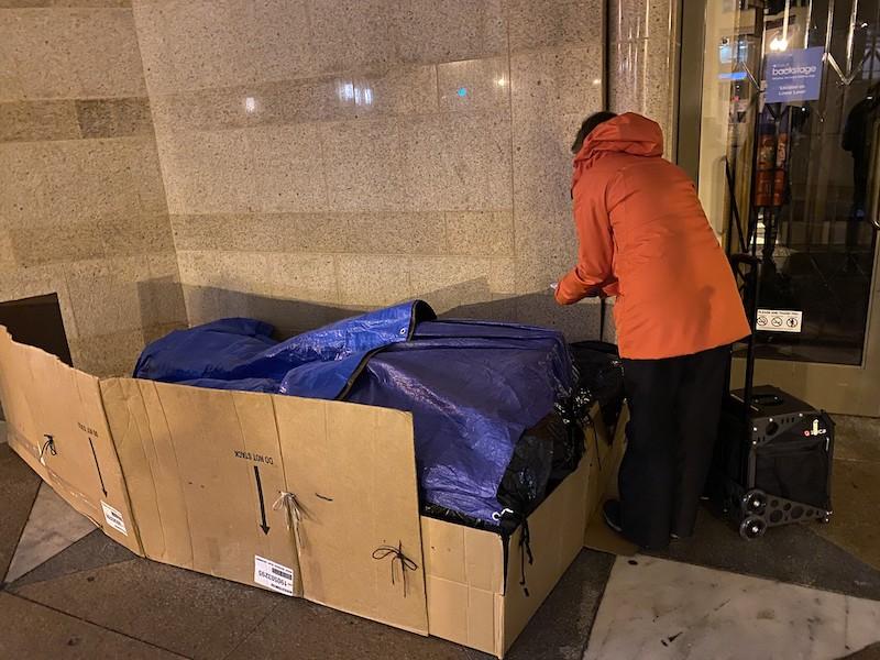 La dura realidad de los latinos sin techo en Washington, DC