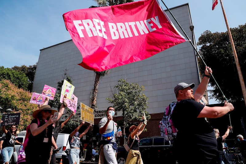 El proyecto de ley sobre la tutela de #FreeBritney en California se convierte en ley