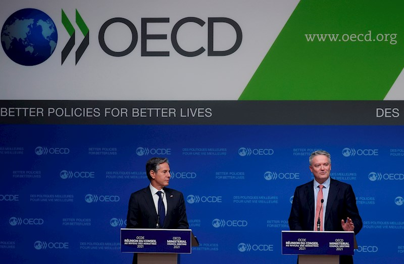 136 países llegan a un acuerdo sobre el impuesto mínimo mundial