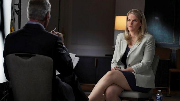 """Frances Haugen: la mujer que filtró los """"Archivos de Facebook"""" revela su identidad"""