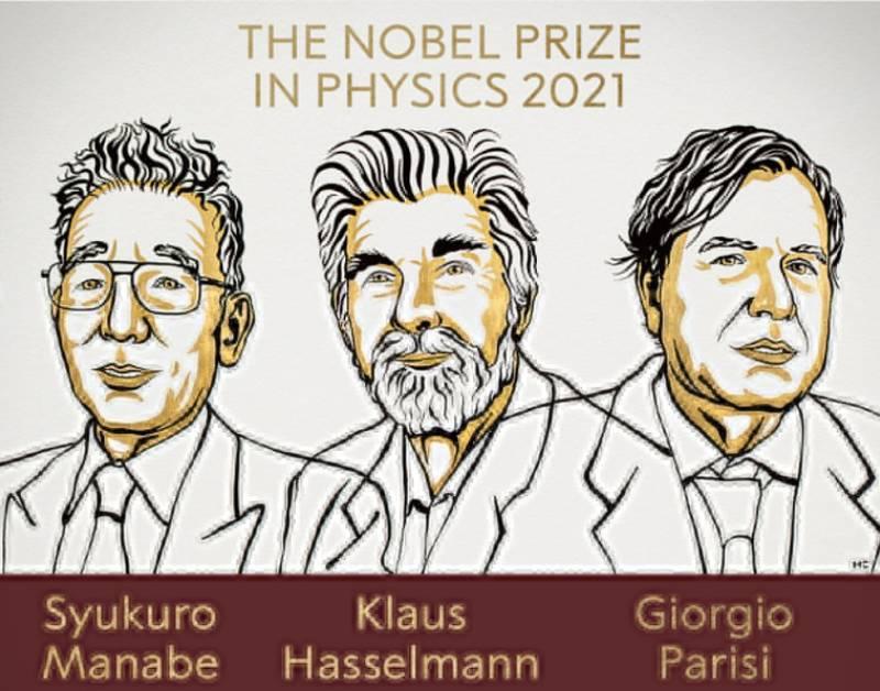 Nobel de Física reconoce trabajos sobre las fuerzas de la naturaleza y el cambio climático