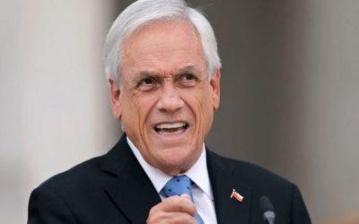 Chile: la oposición presenta una moción de censura para destituir al presidente Sebastián Piñera