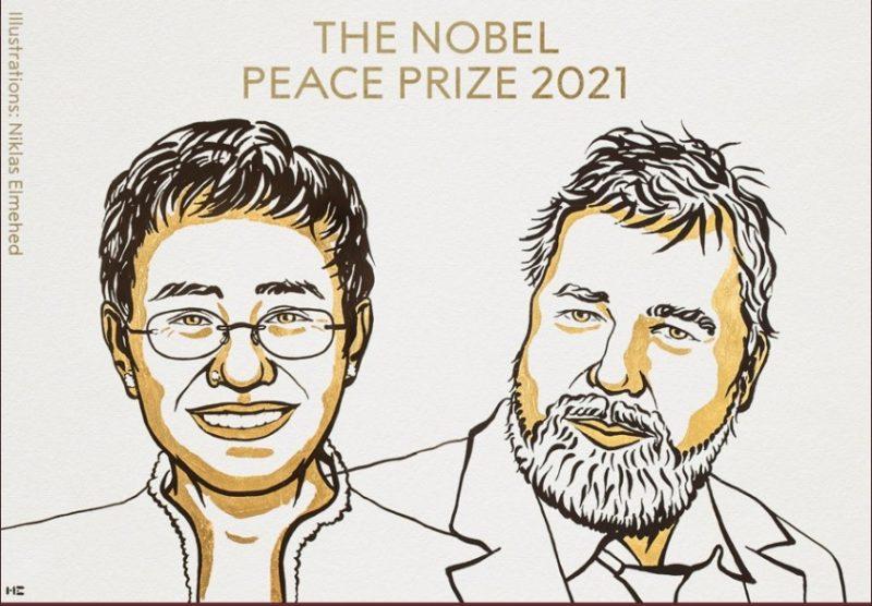 Periodistas de Filipinas y Rusia reciben el Premio Nobel de la Paz