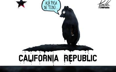 Caricatura | Derrame en California